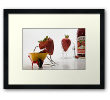 Where Strawberry Jam Comes From Framed Print