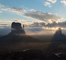 Monuments in the Mist by SomeGuyInNJ