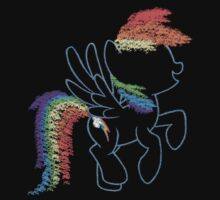 Sprayed Rainbow Dash by Colossal