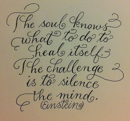 """The Soul Knows""  by Melissa Goza"