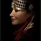 portrait of a gypsy woman by carol brandt