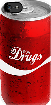 Enjoy Drugs in a Can by HighDesign