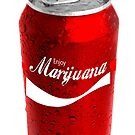 Enjoy Marijuana in a Can by HighDesign