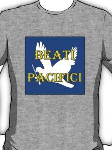beati pacifici w/dove T-Shirt