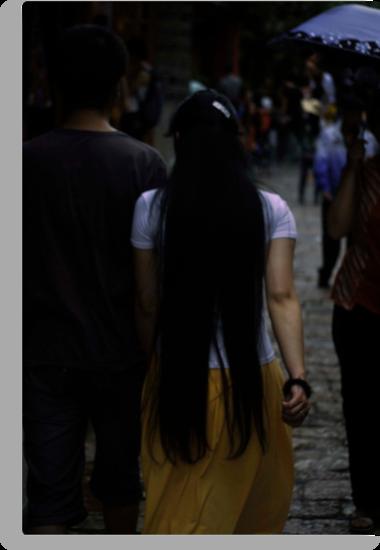 long hair by Isabela M. Lamuño