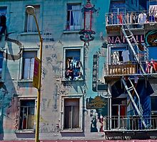North Beach, San Francisco, California by Scott Johnson