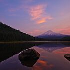 Trillium Lake Sunrise by Dan Mihai