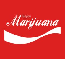 Enjoy Marijuana (Red iCASE) by HighDesign