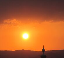 Sunset over Aqaba by Talking Watermelon