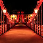 South Portland Street Suspension Bridge  by Photo Scotland