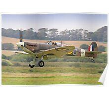 Spitfire VB BM597 Scramble - Shoreham Airshow 2012 Poster