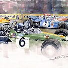 Germany GP Nurburgring 1969  by Yuriy Shevchuk