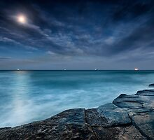 Lights at Sea by Michael Howard