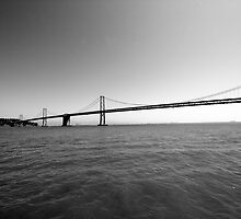 San Francisco Bay Bridge by luciaferrer