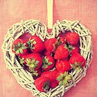 Strawberries Love by Maria Paola R