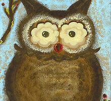 Owl Winterberry by Tara  Henry