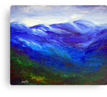 The Dragon Mountain Canvas Print
