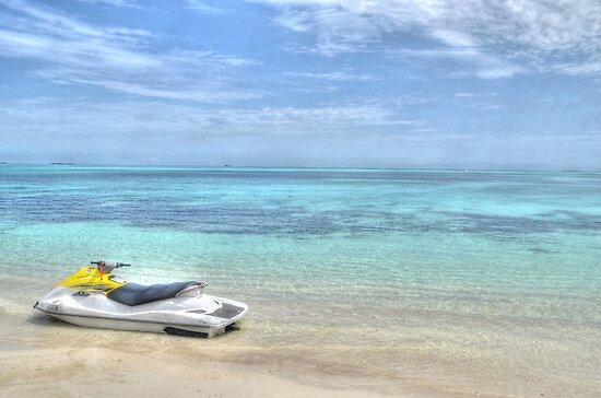 Good Man's Bay Beach in Nassau, The Bahamas by 242Digital