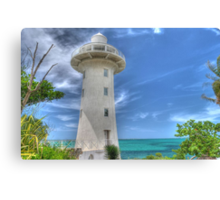 Eastern Road Lighthouse in Nassau, The Bahamas Canvas Print