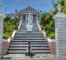 Government House in Nassau, The Bahamas by Jeremy Lavender Photography
