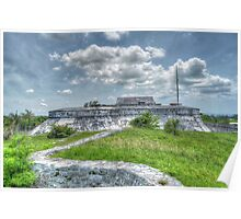 Fort Charlotte in Nassau, The Bahamas  Poster