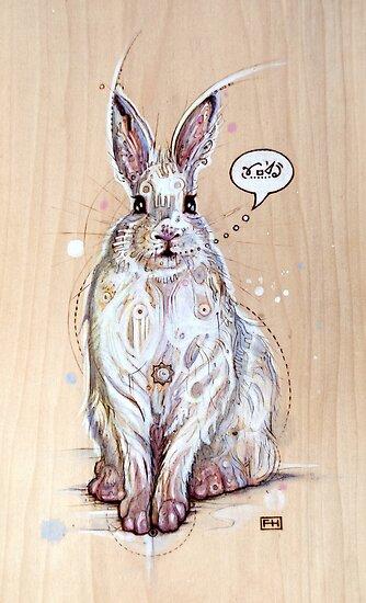 Snow bunny 2 by Fay Helfer