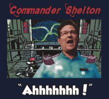 Commander Shelton - Ahhhhhhh! by perilpress