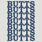 Tumblr Butts Tee by CaptainFlowers5