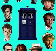 Doctor Who- Eleven Doctors by TimeRelative
