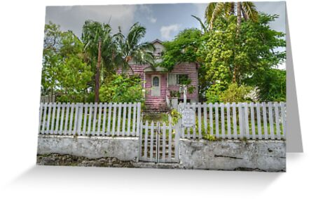 Old House in Nassau, The Bahamas by 242Digital
