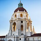 Pasadena City Hall at Sunset. by Firesuite