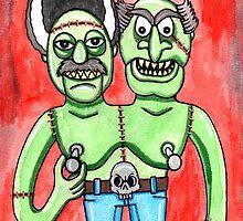 Franken Muppet by Dr-Twistid