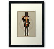 Professor Layton - Hershel Layton Framed Print