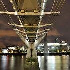 Millennium Bridge by Gwyn Lockett