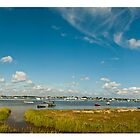 Hengistbury Head Panoramic by Dale Rockell