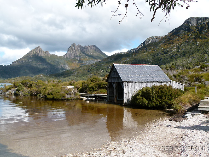Dove Lake and Cradle Mtn by DEB CAMERON