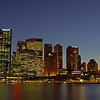 Sydney skyline by SharronS