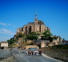 Le Mont St. Michel by amrita125