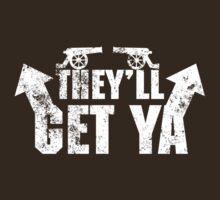 Anchorman - Ron Burgundy - The Guns they'll Get Ya Vintage by metacortex