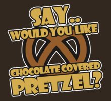 Jay & Silent Bob Strike Back - Chocolate Pretzel by metacortex