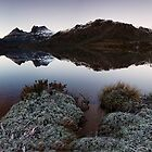 Dove Lake Pano #1 by Garth Smith