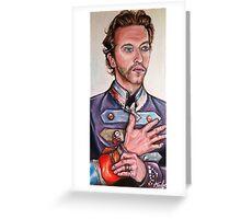 Chris Martin Greeting Card