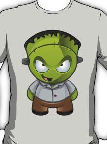 Frankenstein Monster Boy Naughty Grin T-Shirt