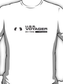 USS Voyager (2) T-Shirt