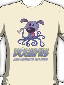 The Big Bang Theory - Dogapus - Mans Underwater Friend T-Shirt