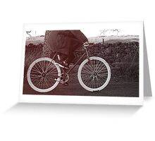 Fixie Bike Greeting Card