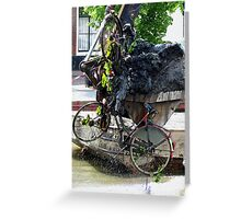Yes! They found my bike!!! Greeting Card