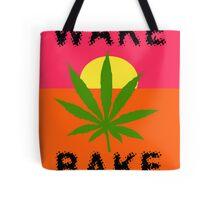 Wake & Bake Marijuana Tote Bag