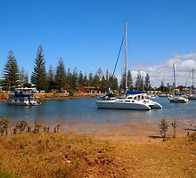 Northern Rivers Yamba NSW Australia by Margaret Morgan (Watkins)