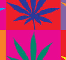 Marijuana Sticker